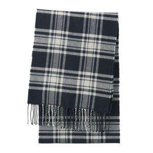 ❗️4/$20 Uniqlo Heattech plaid fringe scarf - NEW
